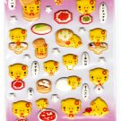 LamPlanning Gold Pig Puffy Sticker Sheet Kawaii