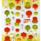 LamPlanning Ringo Chan Puffy Sticker Sheet Kawaii