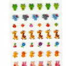 Ark Road Japan Cute Animals Sticker Sheet Kawaii