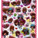 Q-Lia Japan Powerful Girls Sticker Sheet Kawaii