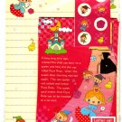 Daiso Japan Fairy Tale Letter Set with Stickers Kawaii