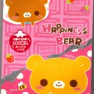 Crux Japan Happiness Bears Memo Pad Kawaii