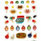 Active Japan Summer Festival Epoxy Sticker Sheet Kawaii