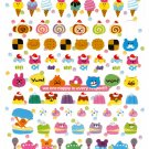 Crux Japan We Are Happy Sticker Sheet Kawaii