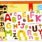 Mind Wave Japan The Alphabet Monster Letter Set with Stickers Kawaii