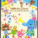 Kamio Japan Hello My Circus Mini Memo Pad Kawaii