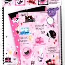 Q-Lia Japan Casual Magic Letter Set with Stickers Kawaii