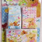 Crux Japan Charming Bear Box Erasers Set Kawaii