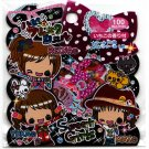Pool Cool Japan Sweet Girls Sticker Sack Kawaii
