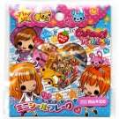 Crux Japan Caramel Ribbon Sticker Sack Kawaii