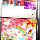 Kamio Japan Romantic Kids Room Letter Set with Stickers Kawaii