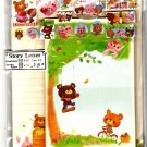 Kamio Japan Happy Picnic Letter Set with Stickers Kawaii
