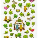 Mind Wave Japan Happy Birds Epoxy Sticker Sheet (B) Kawaii
