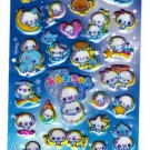 Kamio Japan Awawa Chan Puffy Sticker Sheet (C) Kawaii