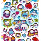 Kamio Japan Awawa Chan Puffy Sticker Sheet (E) Kawaii