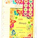 Daiso Japan Love Butterfly Letter Set with Stickers Kawaii