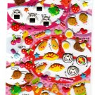 Pool Cool Japan Love Lunch Puffy Sticker Sheet Kawaii