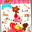Kamio Japan Happy Picnic Memo Pad with Postcard Kawaii