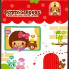 Q-Lia Japan Berry's House Mini Memo Pad Kawaii