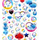 Kamio Japan Awawa Chan 3-D Sticker Sheet Kawaii