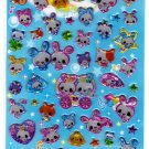Q-Lia Japan Princess Bunny Epoxy Sticker Sheet Kawaii
