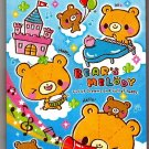 Crux Japan Bear's Melody Mini Memo Pad Kawaii