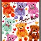 Q-Lia Japan Sugar Bear Mini Memo Pad Kawaii