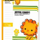 Mind Wave Japan Joyful Candy Letter Set Kawaii