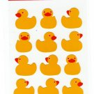 Banana Brand Japan Duckies Sticker Sheet Kawaii