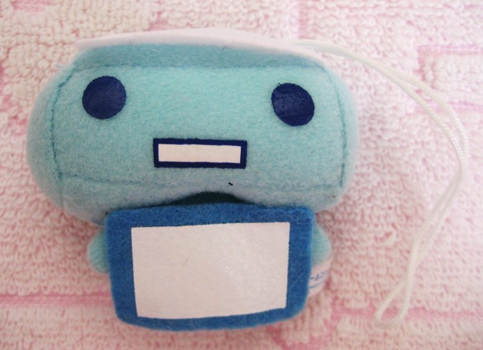 San-X + Green Camel Japan Tissue San Plush Cell Phone Strap Kawaii