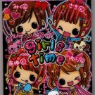 Kamio Japan Girls Time Mini Memo Pad Kawaii