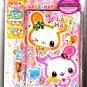 Crux Japan Usa Usa Love x Happy Letter Set with Stickers Kawaii