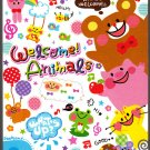 Q-Lia Japan Welcome Animals Mini Memo Pad (B) Kawaii