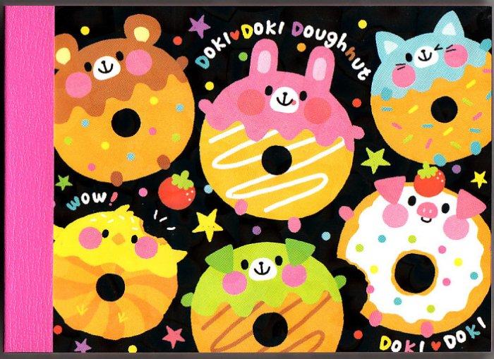 Crux Japan Doki Doki Doughnut Mini Memo Pad Kawaii