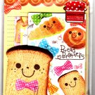 Crux Japan Bread Brothers Letter Set Kawaii