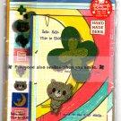 Wizard Japan Handmade Bear Letter Set with Stickers Kawaii