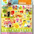 Kamio Japan Fairy Tale World Letter Set with Full Sheet of Stickers Kawaii
