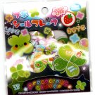 Kamio Japan Precocious Clover Sticker Sack Kawaii