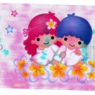 Sanrio Japan Little Twin Stars Big Sticker Sheet 1999 Kawaii