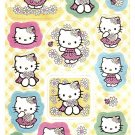 Sanrio Japan Hello Kitty Flowers Sticker Sheet 2008 Kawaii