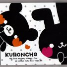 Crux Japan Kuroncho Mini Memo Pad Kawaii