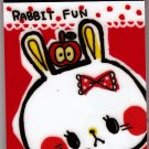 Kamio Japan Rabbit Fun Mini Memo Pad Kawaii