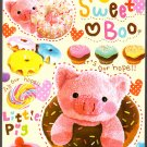 Crux Japan Sweet Boo Mini Memo Pad Kawaii