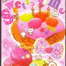 Crux Japan Sweetie Time Mini Memo Pad Kawaii