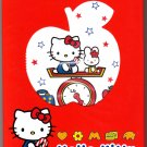 Sanrio Japan Hello Kitty Best Collections Memo Booklet with Stickers 2004 Kawaii