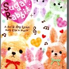 Q-Lia Japan Sugar Rabbit Memo Pad Kawaii