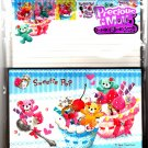 Kamio Japan Sweetie Pop Letter Set with Stickers Kawaii