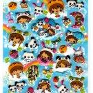 Crux Japan Petit Party Puffy Sticker Sheet Kawaii
