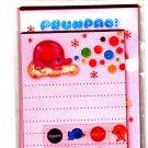 San-X Japan Prunpao Mini Letter Set with Stickers (C) 2003 Rare Kawaii