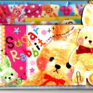 Q-Lia Japan Sugar Rabbit Letter Set with Diecut Cards Kawaii